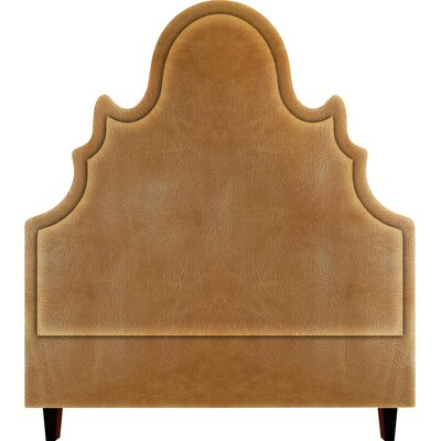 Amalie Upholstered Panel Headboard Size: King, Upholstery: Cashew
