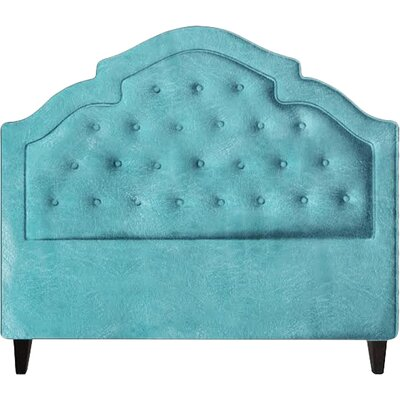 Sheila Upholstered Panel Headboard Size: King