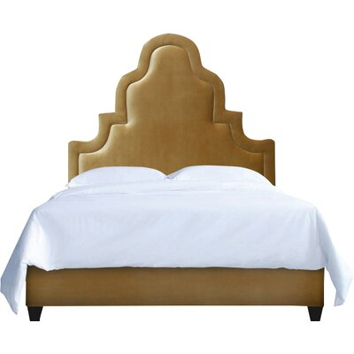 Meela Upholstery Platform Bed