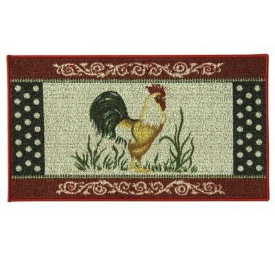 Classic Berber Cocka Doodle Doormat