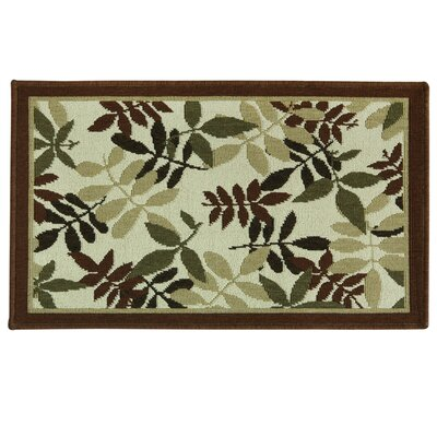 Elegance Aberdeen Spice Doormat Mat Size: Rectangle 18 x 29