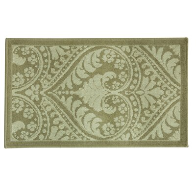 Cotton Weave Large Bellagio Oat/Nat Rug Rug Size: 24 x 310