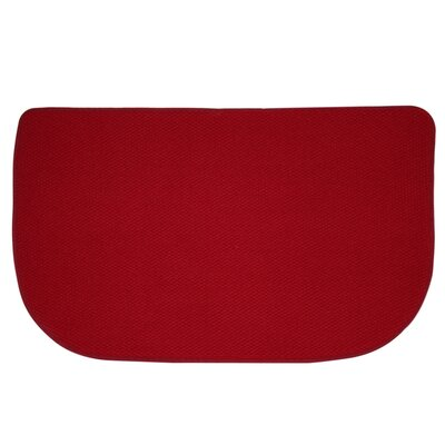 Standsoft Slice Kitchen Mat Color: Red