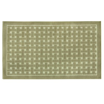 Basket Weave Oatmeal Doormat Mat Size: Rectangle 24 x 310
