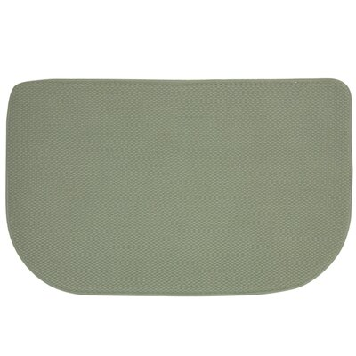 Standsoft Slice Kitchen Mat Color: Sage