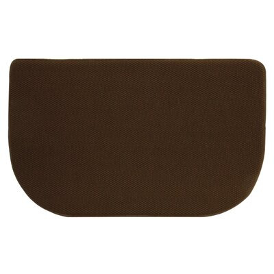 Standsoft Slice Kitchen Mat Color: Chocolate