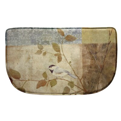 Standsoft Chickadee Collage Vintage Doormat