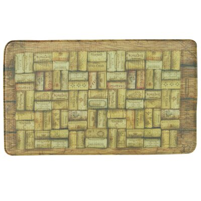 Standsoft Wine Corks Vintage Doormat