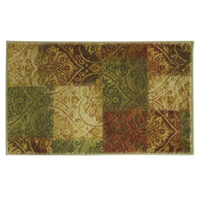 Elegant Dimensions Quilted Abella Area Rug Rug Size: 18 x 29