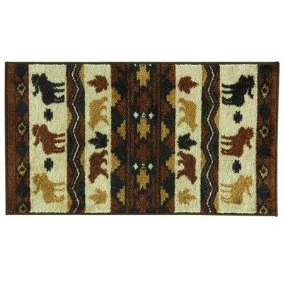 Studio Design Darkwoods Area Rug Rug Size: 18 x 29