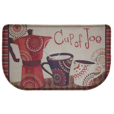 Standsoft Cup of Joe Kitchen Mat