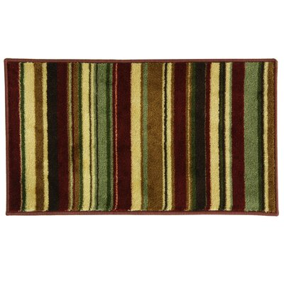 Studio Design Earth Stripe Doormat Rug Size: 18 x 29