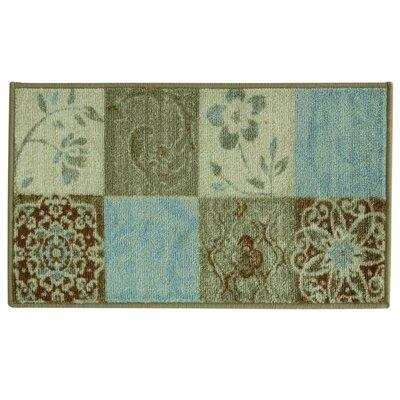 Studio Design Paradise Block Doormat Rug Size: 18 x 29