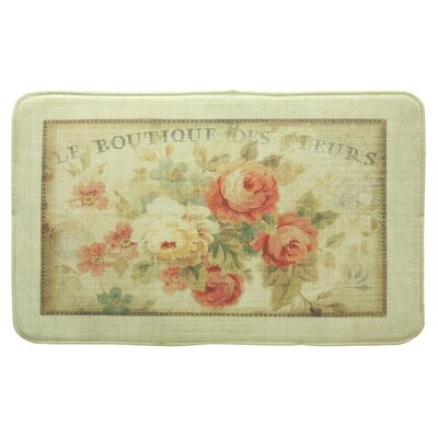 Standsoft Parisian Flower Vintage Doormat