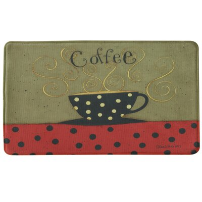 Standsoft Coffee Cup Vintage Doormat