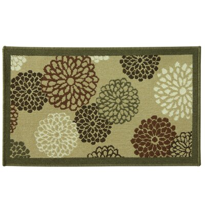 Cotton Elegance Blossom Spice Rug Rug Size: 18 x 29