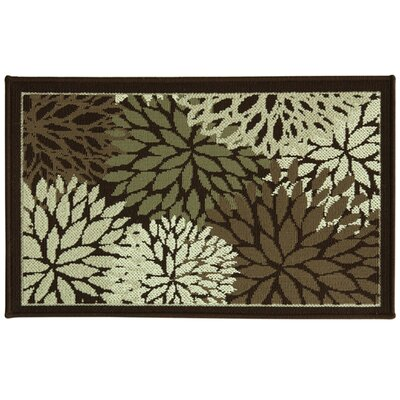 Cotton Elegance Fleur Doormat Mat Size: Rectangle 24 x 310