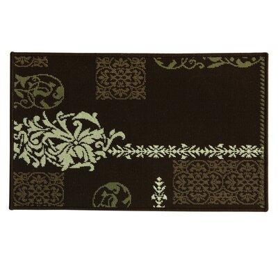 Elegance Parma Doormat Mat Size: Rectangle 18 x 29