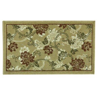 Elegance Elise Spice Doormat Rug Size: 18 x 29