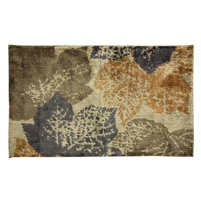 Cashlon Leaf Doormat Rug Size: 110 x 29