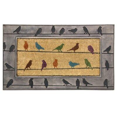Koko Framed Birds Doormat