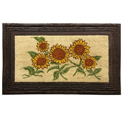 Koko Autumn Gold Framed Doormat