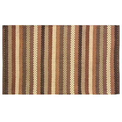 Brenden Brown Area Rug Rug Size: 19 x 210