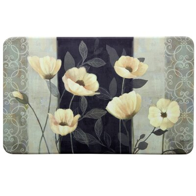 Chef Midnight Poppies Kitchen Mat