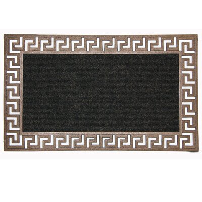 New Generation Greek Key Doormat