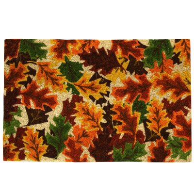 Koko Bleach Fall Leaves Doormat