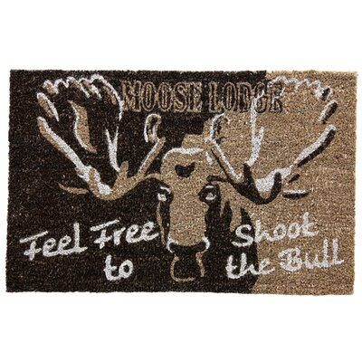 Koko Natural Moose Lodge Doormat