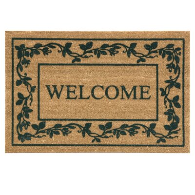 Koko Flocked Welcome Doormat
