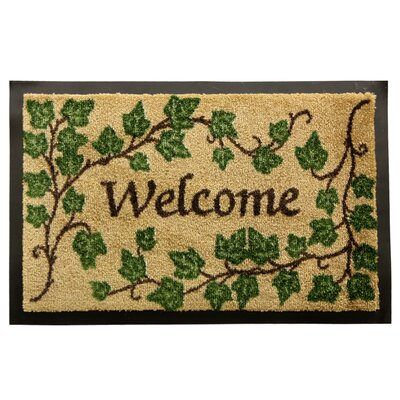 English Welcome Doormat
