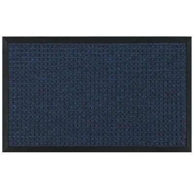 Standard Hobnail Doormat Color: Blue