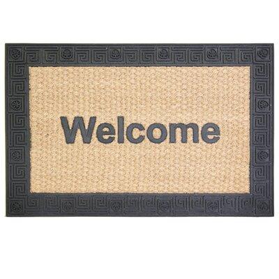 Natural Clean Hampton Greek Doormat