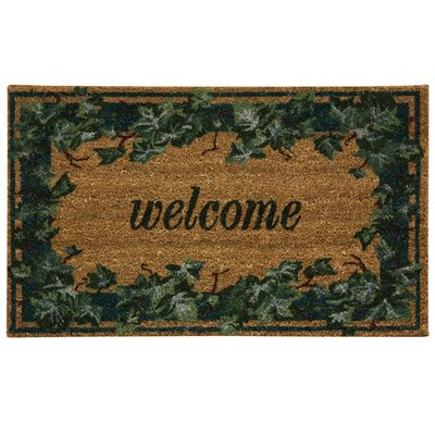 Koko Natural English Ivory Welcome Doormat