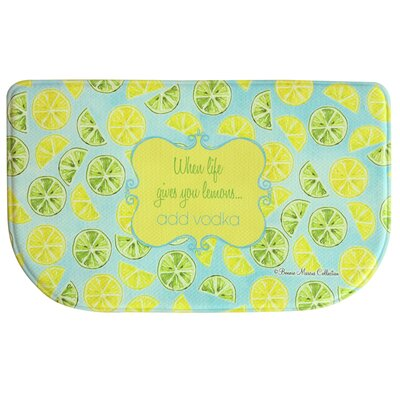 Floor Comfort Lemon Lime Doormat