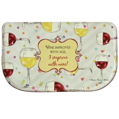 Floor Comfort Improve With Wine Doormat