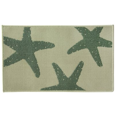 Eldridge Star Fish Blue Area Rug