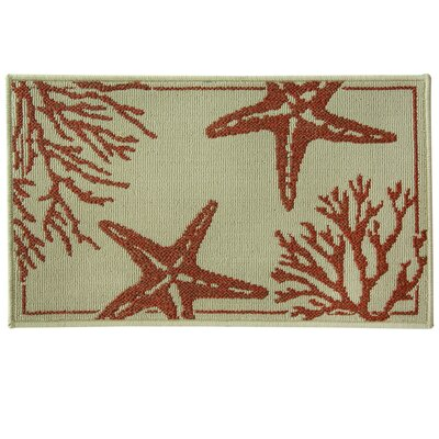 Reliance Coral Starfish Area Rug