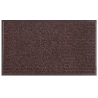 Master Clean Doormat Color: Brown