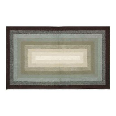 Bernadine Concentric Tones Doormat Rug Size: Rectangle 17.7 x 28.8