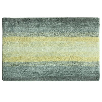 Portico Bath Rug Color: Yellow