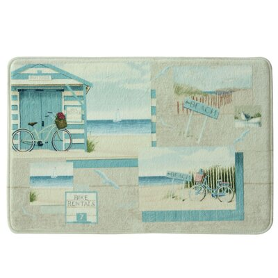 Beach Cruiser Bath Rug