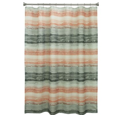 Portico Polyester Shower Curtain
