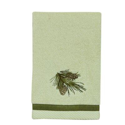 Pine Cone Fingertip Towel