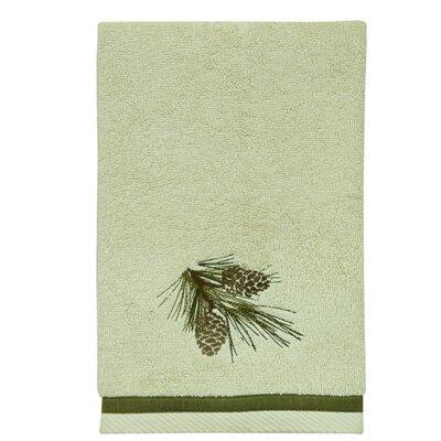 Pine Cone Hand Towel