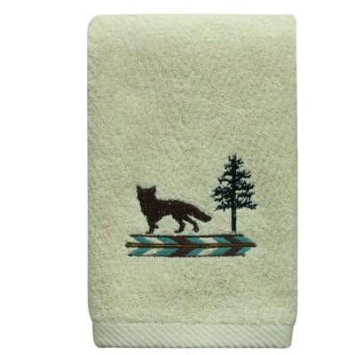 Discover the Wild Fingertip Towel