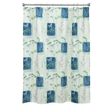 Wildflower Polyester Shower Curtain