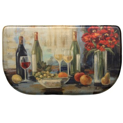 Afternoon Delight Memory Foam Slice Kitchen Mat